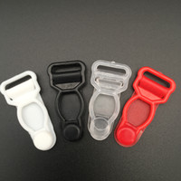 clip strumpfbänder großhandel-Freies Verschiffen 100 Stück / Los 12mm Plastikstrumpfband befestigt Wäschehosenträgerhakenzusatz