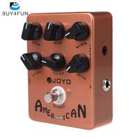 ingrosso i pedali degli effetti di chitarra di joyo-JOYO JF-14 American Sound Guitar Amp Simulator Pedale effetti