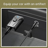 Wholesale Mini Wireless Bluetooth Receiver Bluetooth Car Adapter Receiver mm Aux Stereo Wireless USB Music Receiver For Smart phone headphone