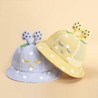 Wholesale cute korean baby hat for sale - Group buy Children s hat summer new Korean version cute rabbit mushroom baby hat shade sunscreen children