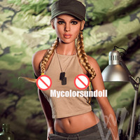 Wholesale real male lifelike sex dolls resale online - Small Breast lifelike Silicone Sex Dolls Full Size Realistic doll for male Mannequins Doll real sized Adult black sex love doll