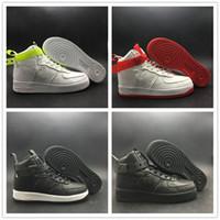 basketbol ayakkabıları yeşil renkte toptan satış-2019 YÜKSEK 07 QS MAGIC STICK VIP Paten Ayakkabı Siyah Beyaz Yeşil Kırmızı Glow Karanlık Moda Yeni Tasarımcı Basketbol Ayakkabı
