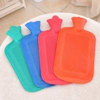 isınma suyu torbası toptan satış-Kauçuk SICAK SU ŞİŞE Çanta SICAK Rahatlatıcı Isı Soğuk Terapi Büyük SATıŞ