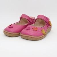 Wholesale children sneaker flower resale online - Kids Toddler Baby Genuine Leather Shoe Girl Flower Sneaker Boy Sport Shoe Kid Child Causal Trainer Sequin Flat Barfoot Y19051303