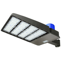 réverbère en métal achat en gros de-Lumière de parking de 300W LED, 36000lm 5500K, équivalence aux halogénures métalliques de 1000W, lampadaire 110V-277V pour parking (Slip Fit 300W)