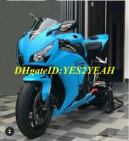 carenagens de molde de injeção abs venda por atacado-Kit de Fusão de molde de Injeção personalizado para Honda CBR1000RR 12 CBR 1000RR 2012 CBR1000 ABS Motocicleta Azul Carenagens set + Presentes HM60