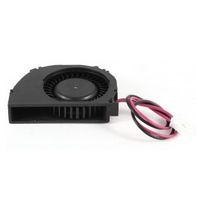 souffleurs dc 12v achat en gros de-Laptop 2 Terminaux CPU Refroidisseur Ventilateur Souffleur DC 12V 0.1A Noir