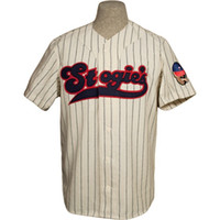 Wholesale jersey custom logo for sale - Group buy Tampico Stogies Home Jersey Stitched Embroidery Logos Vintage Baseball Jerseys Custom Any Name Any Number