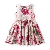 05c28b80023 Girls Cotton Floral Vest Dresses Summer 2019 Kids Boutique Clothing 1-7Y Little  Girls Sleeveless Dresses Basic Style High Quality
