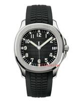 reloj de banda transparente al por mayor-4 Color Nautilus Reloj de Lujo Aquanaut 40mm 5167A-001 Bandas de Caucho Transparente Mecánico Automático Relojes Para Hombre Orologio di Lusso