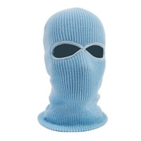 capas de lã venda por atacado-Inverno Térmica Velo Máscara Completa Máscara de Ciclismo Mais Quente Ciclismo Sports Ski Bicicleta Snowboard Rosto Chapéu Cap 6 Cores