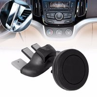 Wholesale cell phone support for cars online – 360 Magnetic Phone Holder For iPhone Samsung Car Mount Magnet Universial Mobile Cell Phone Smartphone Mini Stand Support Y30