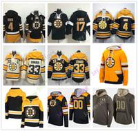 Custom Boston Bruins Ice Hockey Hoodies Patrice Bergeron Zdeno Chara David  Pastrnak Tuukka Rask Bobby Orr Ray Bourque Brad Marchand 725e3f8b6