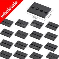Wholesale building bricks base plate resale online - holesale Stand Base Plate for Figure Part cm Small Particles Bricks Building Blocks Model Accessories