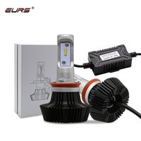 ingrosso kit h4 alogeno-Lampadina H4 LED super luminosa H7 LED faro 50W H1 H3 9012 Lampade Hi / Lo Beam 8000LM 12V Plug Play Car Styling