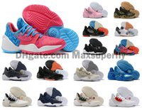 Wholesale new arrival sports shoes boys for sale - Group buy 2019 New Arrival Mens James Harden Vol S IV MVP BHM Black Boys Basketball Shoes Outdoor Sports Training Sneakers Size US