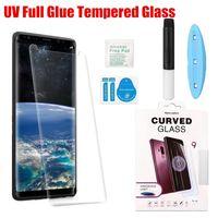 ingrosso corpo temperamento-Per Huawei P30 Pro UV Curvo 3D 5D Vetro Temperato Schermo Sottile Pellicola Anteriore Del Telefono Per Huawei mate 20 P20 Pro P20 Lite