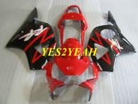 Wholesale honda 954 injection fairing resale online - Injection Fairing body kit for Honda CBR900RR CBR RR CBR900 RR ABS Red black Fairings bodywork Gifts HC39