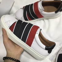 Wholesale knot leather for sale - Group buy mens designer shoes G webbing sneakers in leather womens luxury trainers paris signature and knots elastic bands sneaker colors