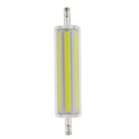 ampul r7s 118mm toptan satış-Dim R7S 15 w 30 w 78mm 118mm COB SMD LED Lamp110V 220 V mısır ışıkları Işıklandırmalı halojen lamba değiştirin