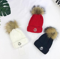 Wholesale knit baby hat for sale - Group buy Children New Hat Knit Hat For Brand tag Girls And Boys Cap Fashion Baby Kids Cap For Children s Accessories Baby Girls Boys