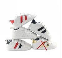 bebek tığ işi kar pamuk çizmeleri toptan satış-2019 Yenidoğan Bebek Erkek Kız Yumuşak Sole Prewalker Ayakkabı 0-18 M İlk Walker için Bebek Yürüyor Sneaker Ayakkabı