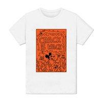 art peinture großhandel-T-Shirt Homme - Crack ist Wack Keith Haring Pop-Art peinture Dessin 1980 USA-Modus