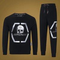 europäische männer mode anzug großhandel-Neue europäische und amerikanische Herrenmode Designer Herrenmode Jogger Luxusmode - Hot Fashion Sports Casual Suit - # 006
