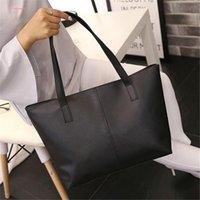Wholesale scrubs large resale online - Women Scrub Leather Handbag Causal Tote Bag Large Capacity Shoulder Bag Vintage Shopping Handbags Bolso Mujer Sac A Main