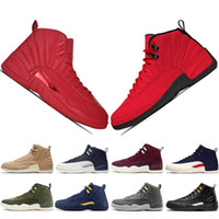 Wholesale new chinese basketball shoes for sale - Group buy With Box High Quality CNY Chinese New Year Dark Grey Bordeaux cherry Gamma Blue Men retro Basketball Shoes s WNTR White OVO Sneakers