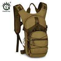 wasserschutztasche großhandel-Protector Plus Portable 15L Wasserdichte Taktische Rucksack Outdoor Wasserdicht Sporttasche Camping Wandern Angeln Jagd Tasche # 743796