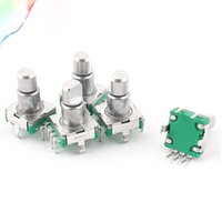 Wholesale electronics components online - 5pcs mm Rotary Encoder Push Button Switch Keyswitch Electronic Components