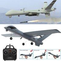 ingrosso aerei fpv-Aereo aereo RC Z51Gliders 2.4G modello volante con LED Fpv Vitesse Altitudine 100 m Rc aerei aerei controllo remoto bambini regali