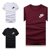 ingrosso nuove t-shirt stampate-Maglietta da uomo firmata 2019 Manica corta estiva Nuova moda Casual Lettera Sexy Lady Stampa Hip Hop Top Tees