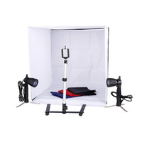 Wholesale photos studio resale online - Photo Studio inch Photography Lighting Tent Kit Backdrop Cube In A Box Mini Stand Best Seller