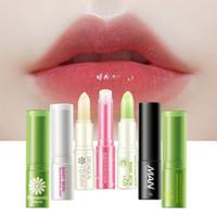 Wholesale men lipstick for sale - Group buy BIOAOUA Images Brand Women Lipstick Man Pure Natural Plant Lip Balm Moisturizing Lip Skin Care Makeup