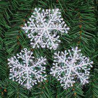 decoração de natal neve artificial venda por atacado-Artificial PVC festa de Natal do floco de neve neve material de casa Festival Decoração