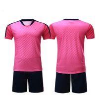 camisetas naranja de fútbol americano al por mayor-Camisa camiseta de fútbol 5XL fútbol americano y los cortocircuitos 2019 de encargo del fútbol jerseys hombre de fútbol