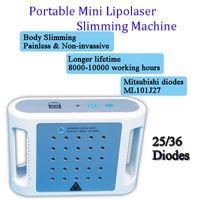 máquinas portátiles de liposucción ultrasónica al por mayor-Máquina láser lipo Máquina láser lipo Máquina ultrasónica lipo láser Máquina de liposucción eliminación de grasa spa portátil uso