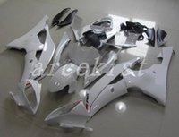juegos de carenado r6 al por mayor-3 regalos Nuevo ABS carenados de motocicleta para bicicleta aptos para YAMAHA YZF R6 2008-2016 YZF R6 08 09 10 11 12 13 14 15 16 carenado de carenado conjunto blanco personalizado