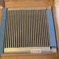 Wholesale free radiators resale online - plate fin air cooler oil cooler radiator for AC screw air compressor