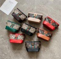 ingrosso fashion hangbags-Bambina Vintage Stampa Vintage floreale Hangbags Baby Girl Fashion a strisce catena tracolla singlet tracolla borsa a tracolla