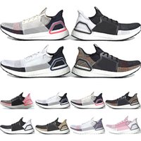ae80263e9 2019 ultra boost 19 running shoes for men women Oreo REFRACT True Pink ultraboost  mens trainers breathable sports sneakers size Eur 36-45