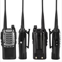talkie walkie baofeng uv 8w toptan satış-Baofeng BF-UV8D Çift Yönlü Telsiz Walkie Talkie UHF 8W 128CH DTMF Dual PTT FM Verici Ham Radyo 10 KM UV 5R 8W