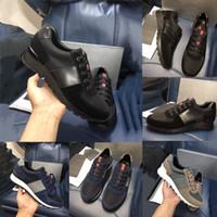 Wholesale mens leisure sports shoes resale online - High Cheap mens dress shoess designer Sports shoes mens shoes men luxury shoes Cloth and leather itertwined fashion leisure men preferredn