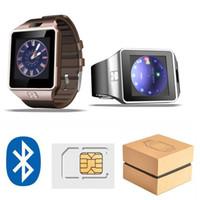 u8 relojes inteligentes para hombres al por mayor-Smart Watch Digital DZ09 U8 Muñeca con hombres Bluetooth Electrónica Tarjeta SIM Deporte Smartwatch cámara para iPhone Android Teléfono Wach