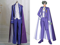 Wholesale full moon cosplay for sale - Hot Sailor Moon Cosplay King Endymion Costume Outfit