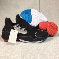 sapatas de basquetebol alaranjadas cinzentas venda por atacado-