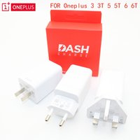Wholesale black uk adapter for sale – best Original ONEPLUS T Dash Charger V A EU US UK Fast Charger Adapter QC Quick Charge Data Dash Cable For Oneplus3 T T