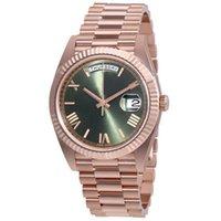 dw herrenuhren groihandel-27 Farben Uhrmens automatischen Selbstwind 40mm 18K Uhr-Edelstahl-TAG Armbanduhr DATUM keine Batterie 2813 Männer